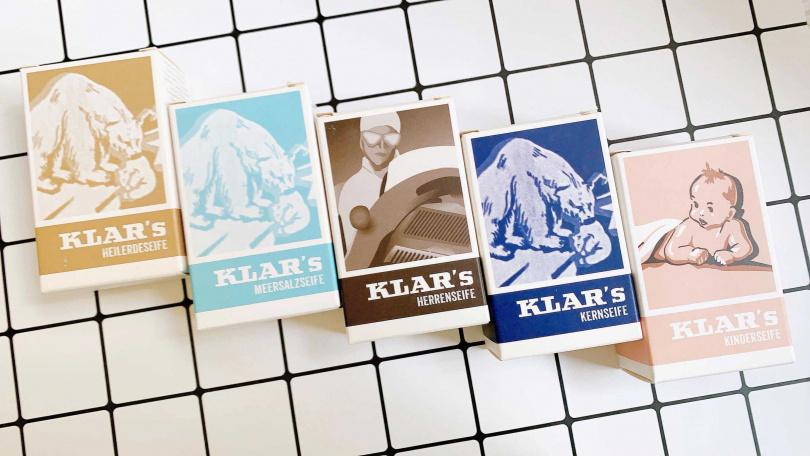 KLAR紳士心動組(任選二入低敏豆腐皂)/特價888元有想入手的人,當然要一次一起帶兩個,就能享有折扣價。(圖/吳雅鈴攝影)