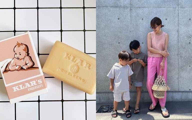 KLAR幼兒豆腐皂100g/480元有了小朋友之後,不管是他們吃的東西、身上穿的衣服、就連用的肥皂都要細心把關。(圖/吳雅鈴攝影、IG@amiharunaami)