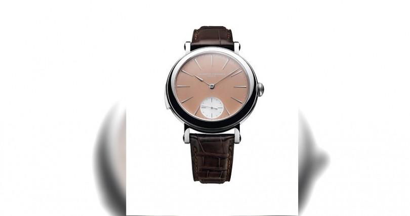 Laurent FerrierGalet Minute Repeater,定價:約290,000瑞郎(約新台幣8,910,000元)(圖/品牌提供)