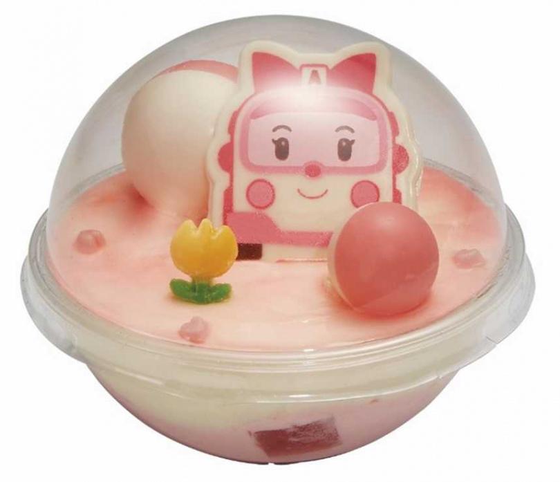 救援小英雄-可愛安寶為切片蛋糕,售價為75元。
