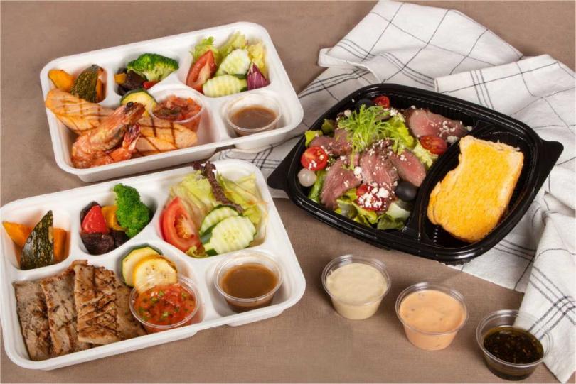 「煙波新竹都會館」推出三款海陸餐盒。