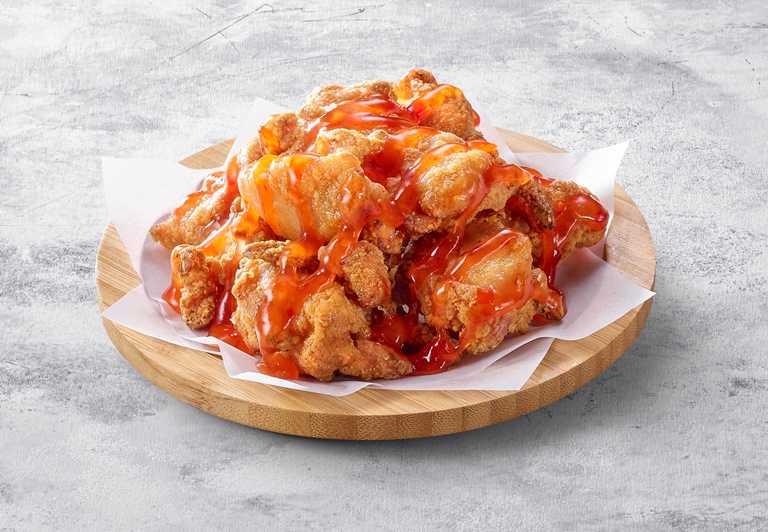 酸甜開胃的「泰式酸甜唐揚雞」,吃來開胃。