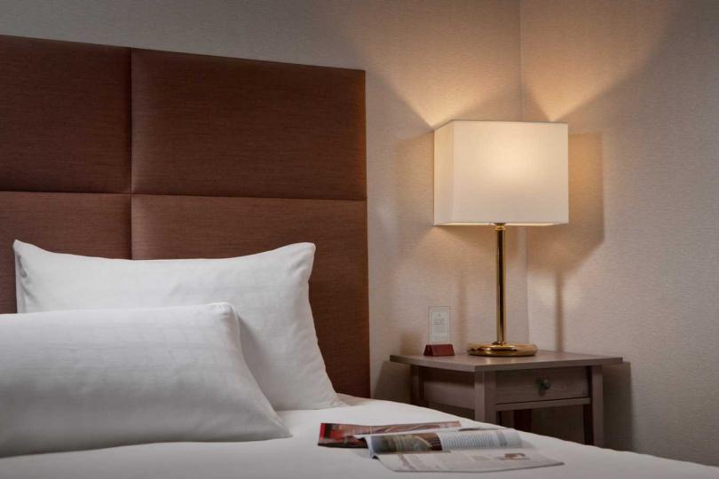 高雄福華大飯店環境優美,吸引許多網美前來打卡。