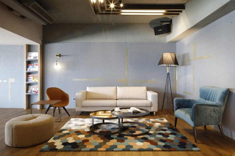 雲林華安館內整潔舒適,給遊客賓至如歸之感。