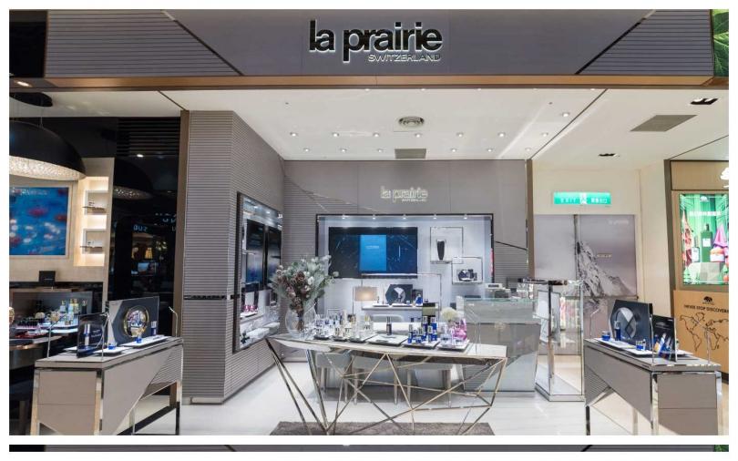 La Prairie新光三越A8嶄新全球旗艦形象店奢華開幕。(圖/品牌提供)