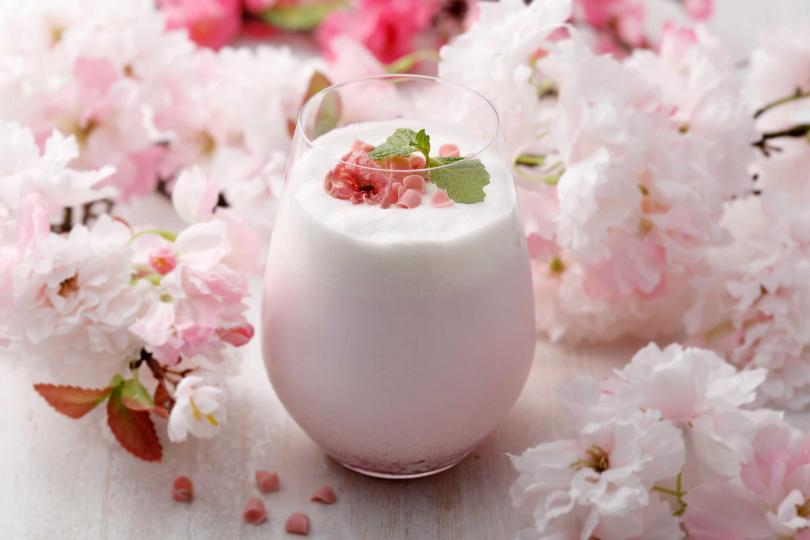 春櫻花歐蕾。(圖/杏桃鬆餅屋提供)
