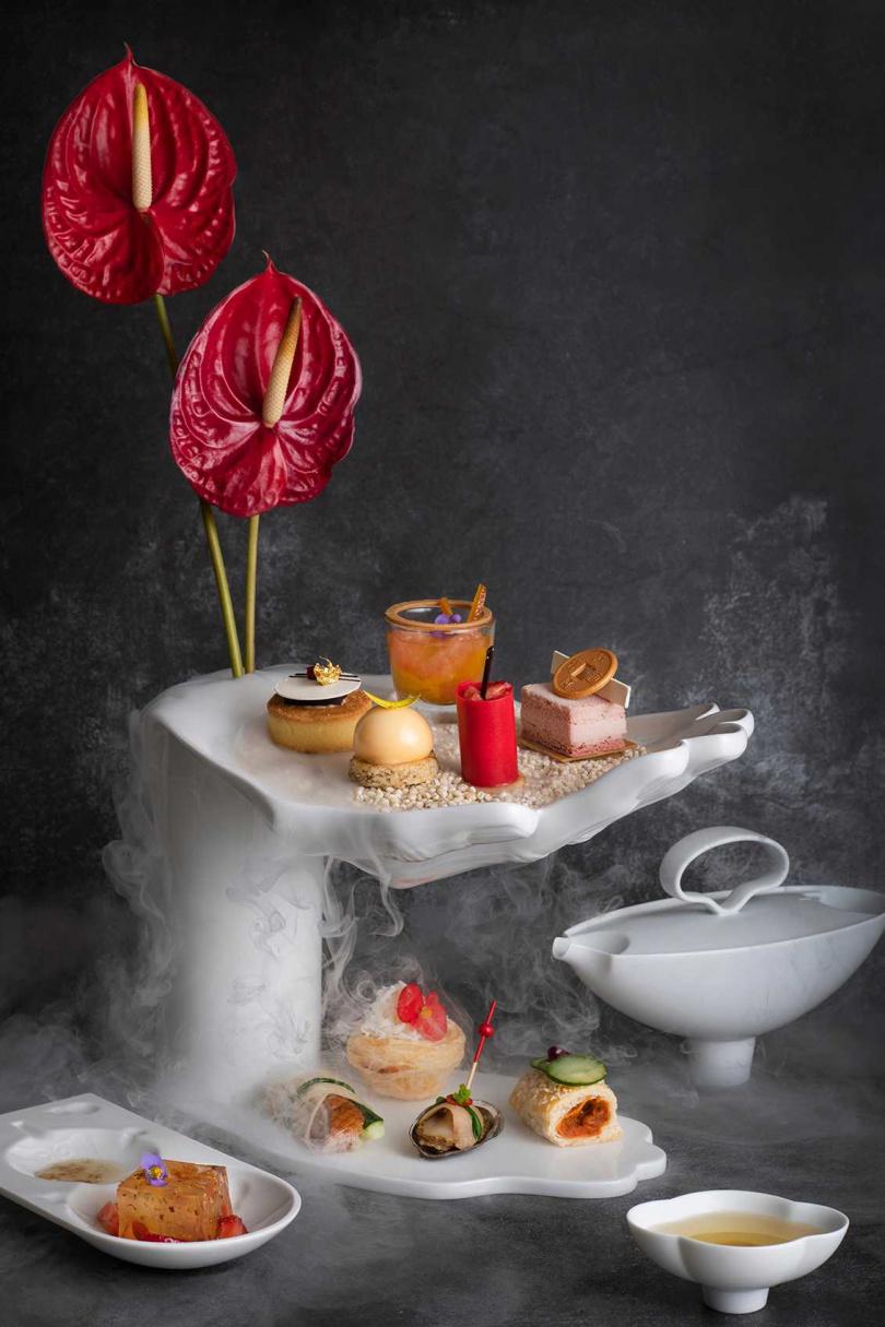 「新氣下午茶」。(圖/香格里拉台北遠東國際大飯店提供)