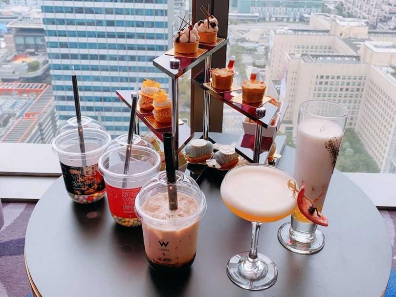 「BUBBLE YEN珍奇鬥艷」雙人下午茶。(圖/台北W飯店提供)