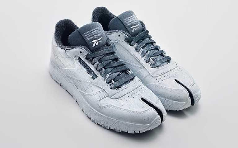 Reebok x Maison Margiela聯名鞋全球同步於1月30日限額販售,台灣則於1月30日上午11:00在Reebok官方網站超限量獨賣。(圖/品牌提供)