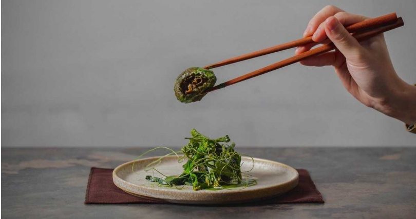 澀Sur-打破料理框架摘下一星,連草仔粿都成為靈感來源。(圖/擷取自澀Sur-粉絲頁)