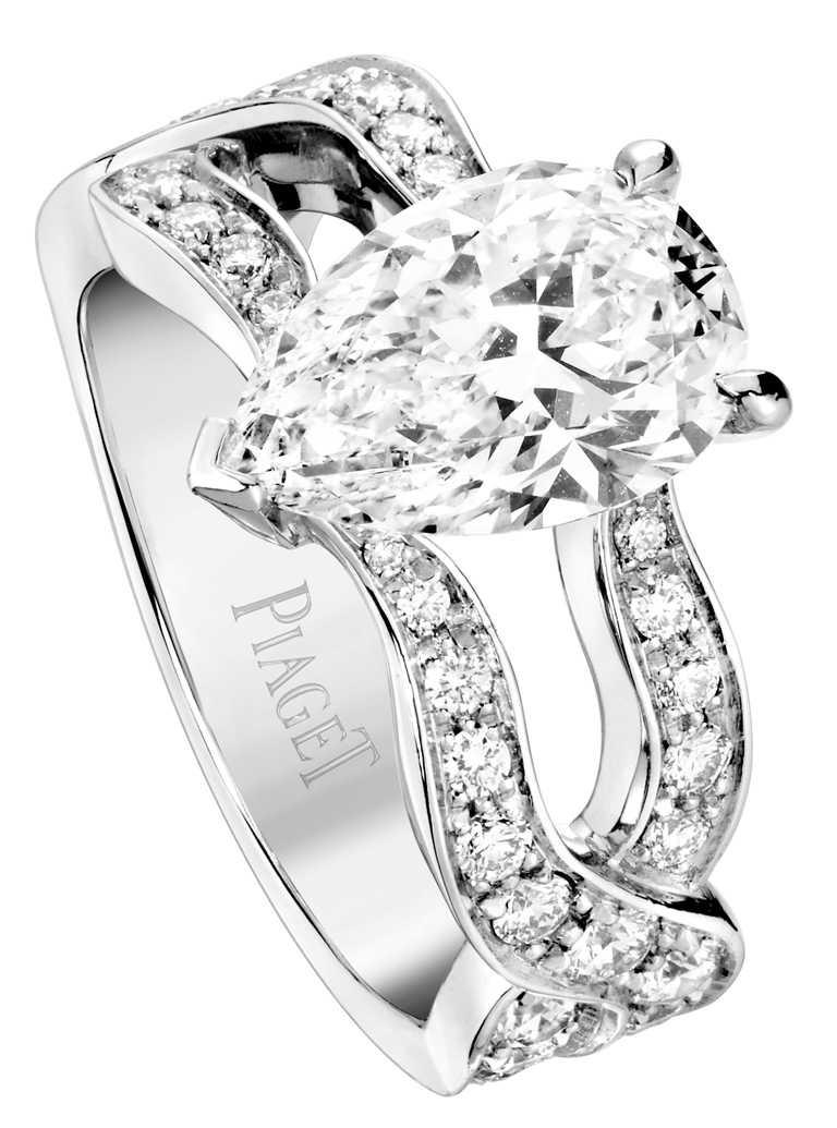 PIAGET「Jardin Secret」系列高級珠寶鑽石戒指╱價格店洽。(圖╱PIAGET提供)