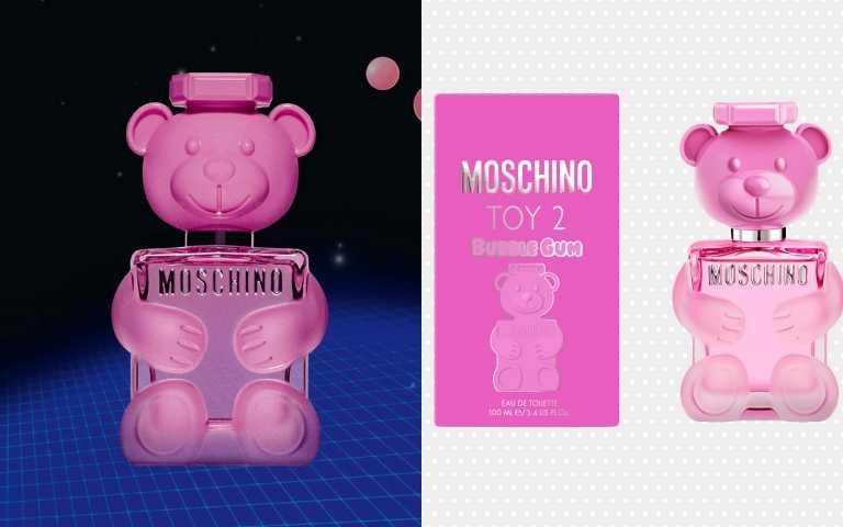 MOSCHINO泡泡熊女性淡香水50ml/1,850元(圖/品牌提供)
