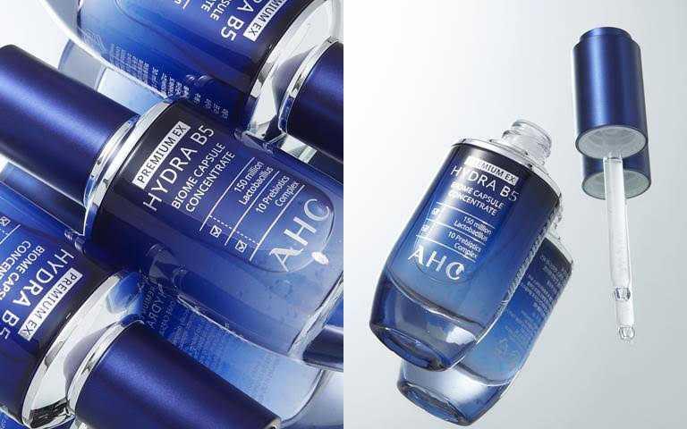 AHC超微導B5能量修護賦活露30ml/1,680元一抹釋放1億5千萬益生菌體,幫肌膚注入最高等級修護保濕能量。(圖/品牌提供)