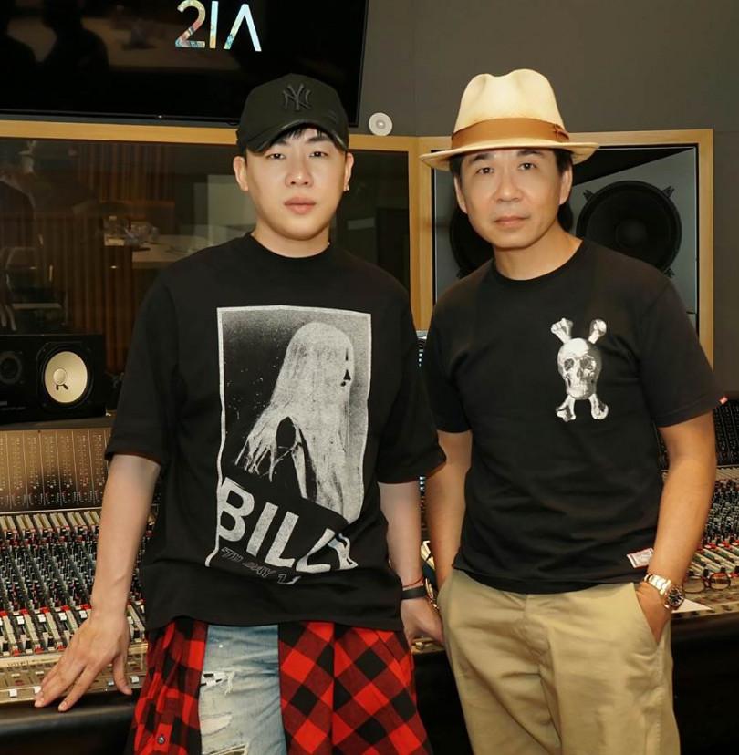 新歌〈前男友〉是胡彥斌與音樂搭擋大虎哥,睽違10年再度合作的作品。(圖/極光森林提供)