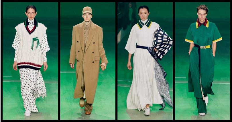 LACOSTE Fashion Show 時裝秀款系列引進市場,獲得廣大迴響,獨家在ARTIFACTS 專門店販售(圖/品牌提供)