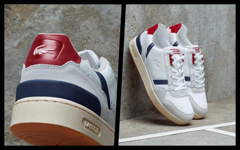 外形沿襲熱銷款 SIDELINE的邊線元素,天然乳膠鞋底使舒適性完美升級,步伐更輕盈。經典品牌標誌性鱷魚LOGO 及鞋舌上的醒目 LACOSTE 字母,踏出的每一步都充滿摩登現代感。LACOSTE T-CLIP 鞋履系列