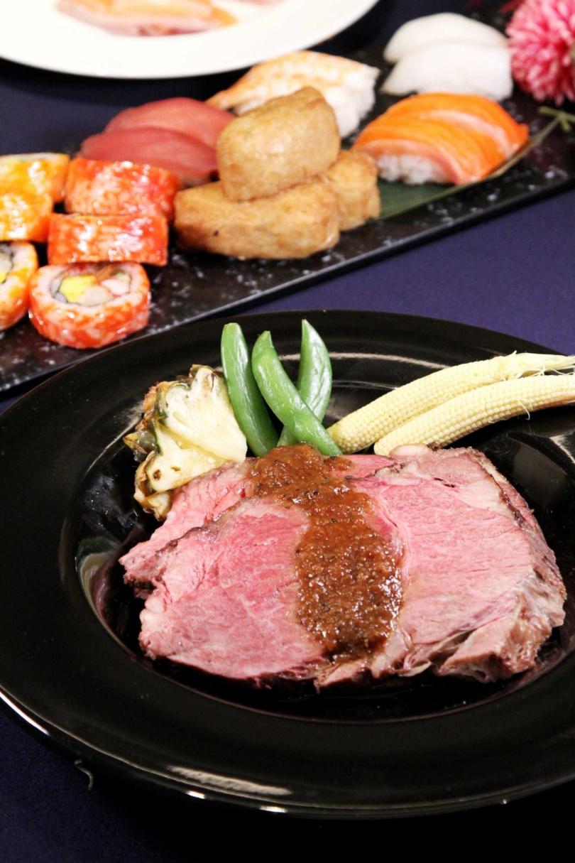 業者會依當令食材不定時更換菜色。