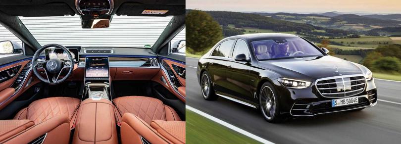 車身大小、軸距相比前代略為提升,使後座乘客有更舒適的空間。(圖/中華賓士提供)