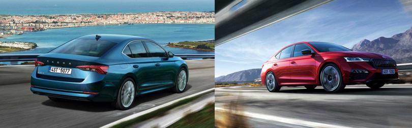 ŠKODA旗下最暢銷的Octavia將會有四門斜背,及Combi旅行車款,勢必在2021年車市掀起搶購潮。(圖/ŠKODA提供)