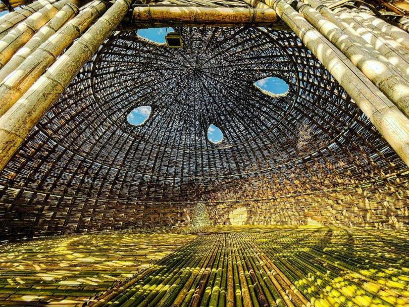 在藝術建築空間作品中,就用力深呼吸,體驗大自然的美好吧!