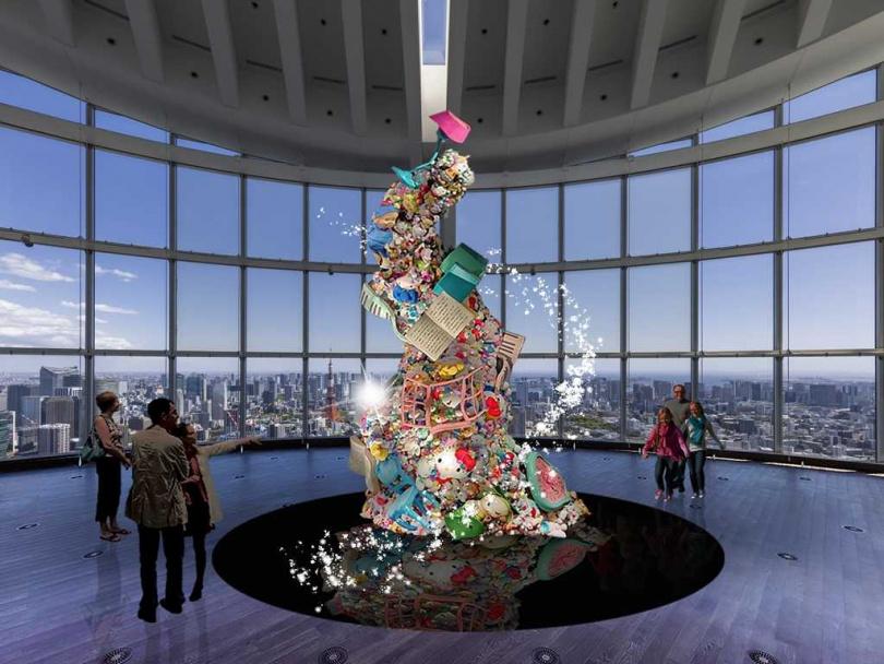 即將登場的 「三麗鷗展:日本可愛文化60年歷史」(示意圖)。(圖/森大廈株式會社提供,© 2021 SANRIO CO., LTD. A)