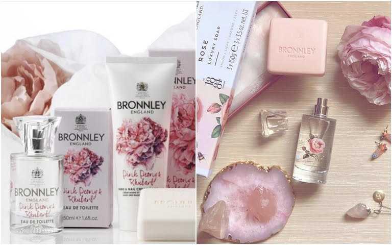 擁有百年歷史的BRONNLEY,有名的不只是手工皂而已,以花、果、草、香氛植物完美結合才淬煉而成的香水,也十分受到好評,很多人都會手工皂+香水成套一起帶。(圖/IG@sodarling_style、IG@burton.srl)