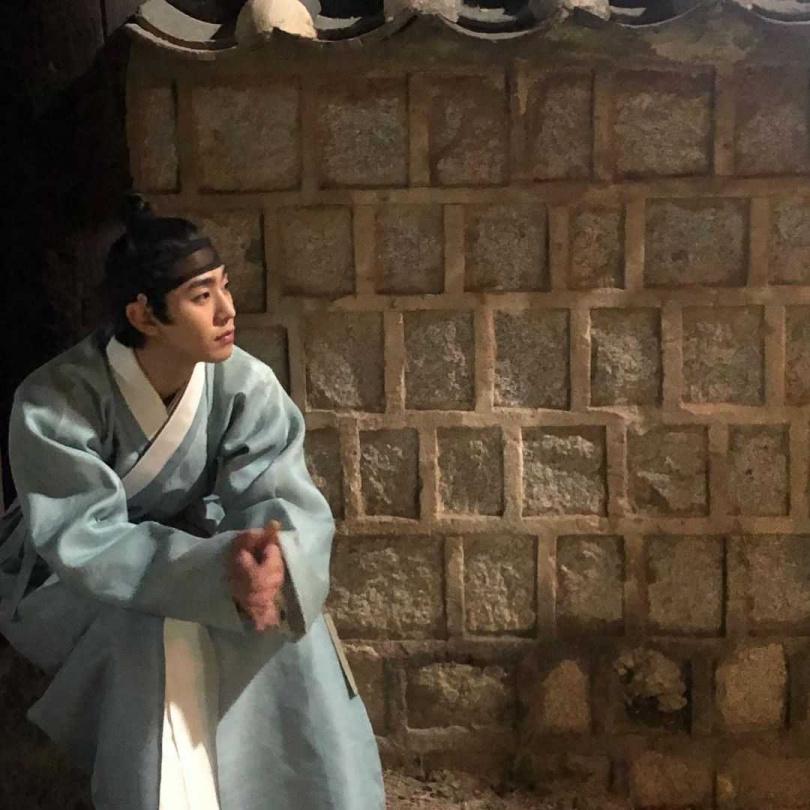 剛到韓國時,安孝燮的韓文並不好,但如今已能演出古裝劇。(圖/翻攝自安孝燮IG)