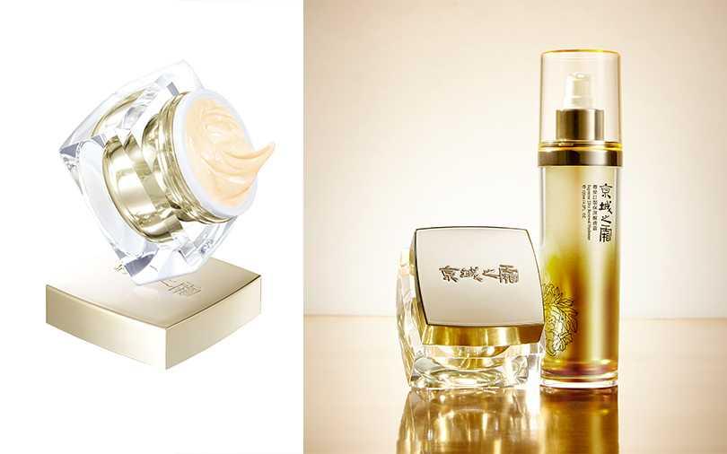 京城之霜 高效訂製天后尊榮霜50g/NT4,800、尊榮訂製保濕醒膚露120ml/NT2,400。(圖/京城之霜)