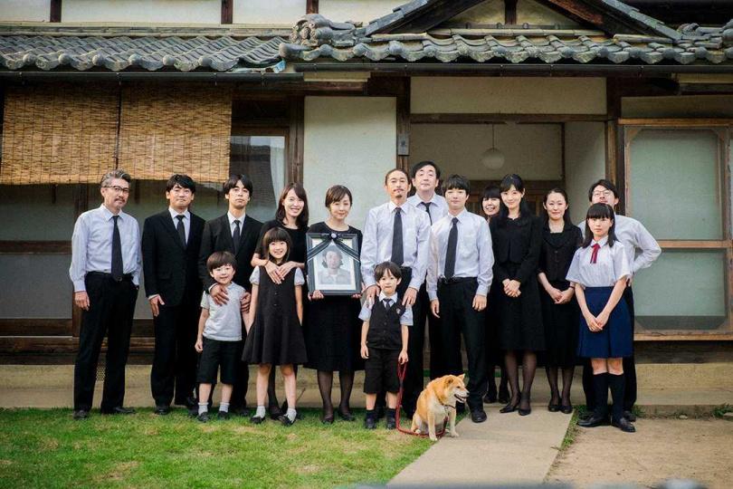 在日本拍死亡的戲反而有添壽之意。(圖/威視提供)