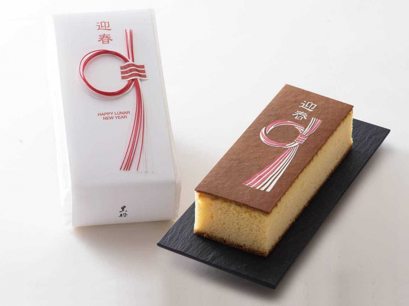 限量春節刻印蛋糕。(圖/黑船Quolofune提供)
