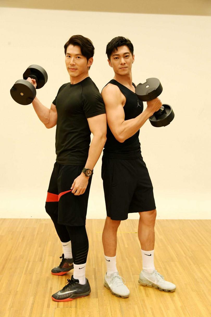 黃少祺對身材滿意,也提倡多運動健身增加免疫力。(圖/三立)