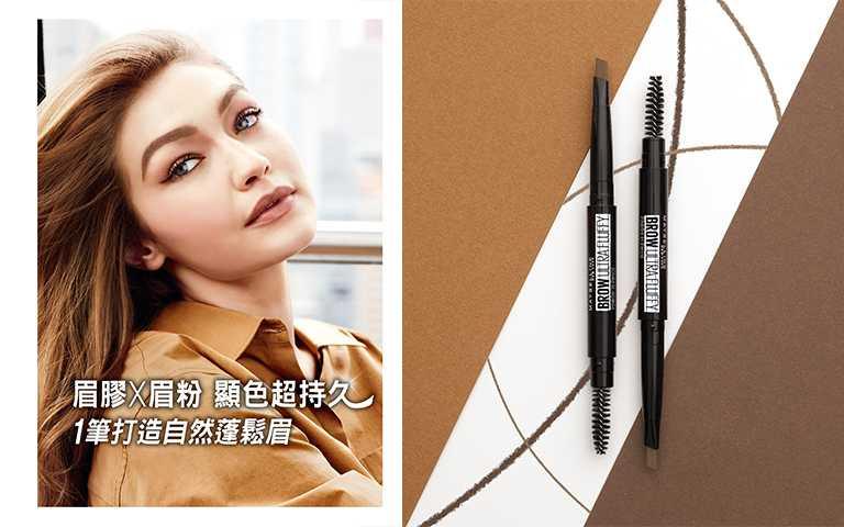 媚比琳 新一代宛若真眉柔霧塑型眉膠筆0.2g/NT290(七月上市)(圖/MAYBELLINE提供)
