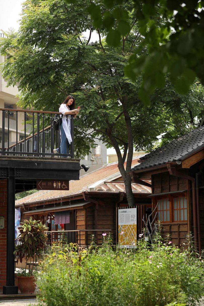 「壢小故事森林」文青風格的日式建築,讓人彷彿置身日本。(圖/于魯光攝)