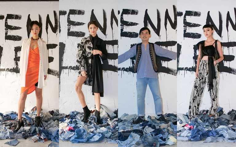 展覽首日力邀藝人黃子佼、知名模特兒吳宜樺、李函與人氣網紅等站台出席。(圖/品牌提供)