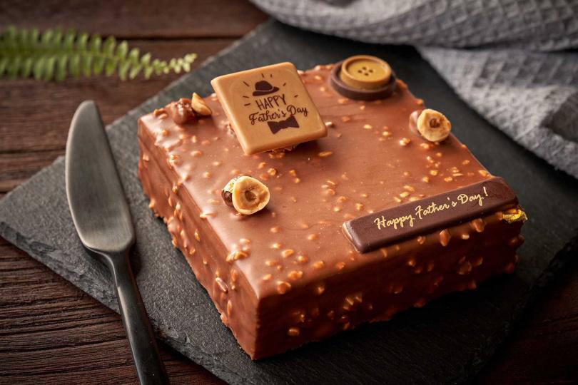 點心坊推出「巧克醺爵」白蘭地生巧克力蛋糕,售價為588元。