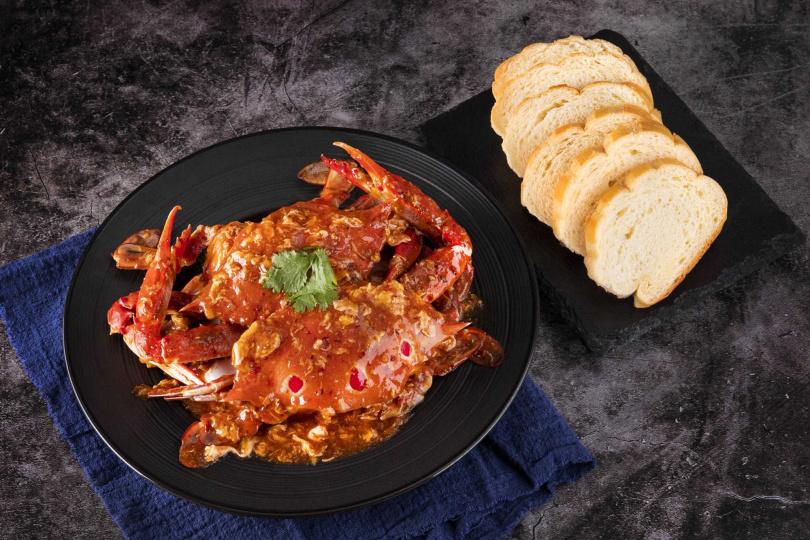 最受饕客喜愛的新加坡經典名菜「星洲辣椒蟹」
