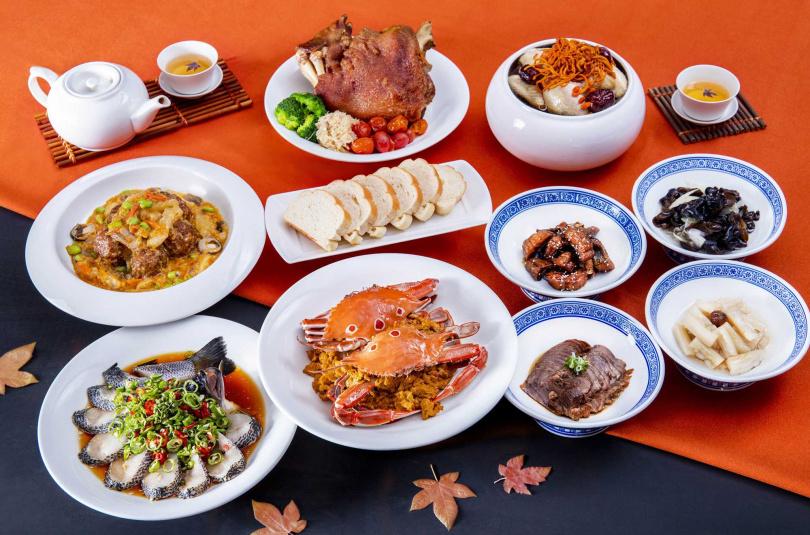 凱達香蟹六人合菜每套4,600元