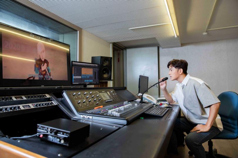 宥勝為《北海小英雄》裡的戰士配音。(圖/華映娛樂提供)