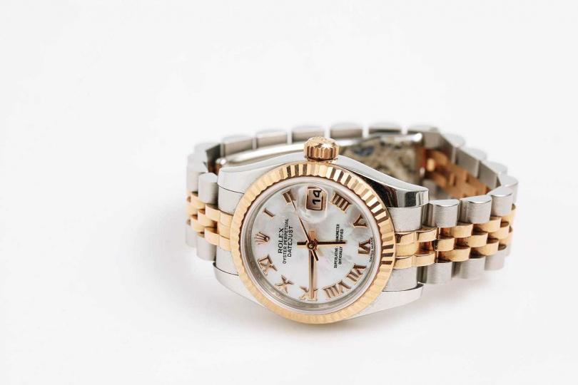 ROLEXOyster Perpetual Datejust腕錶/價格店洽(圖/戴世平攝)