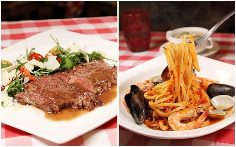 義大皇家酒店推出「住宿送用餐」的優惠,十分划算。