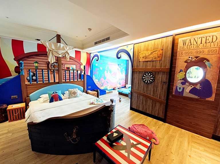 極受親子歡迎的主題房,共有6大主題,房間數有限。
