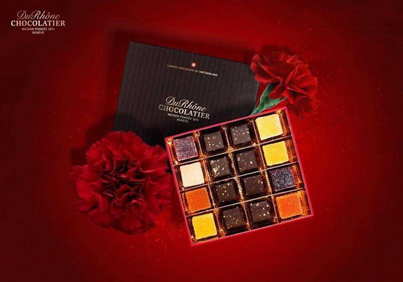(圖/翻攝自Du Rhône Chocolatier Taiwan臉書,下同)