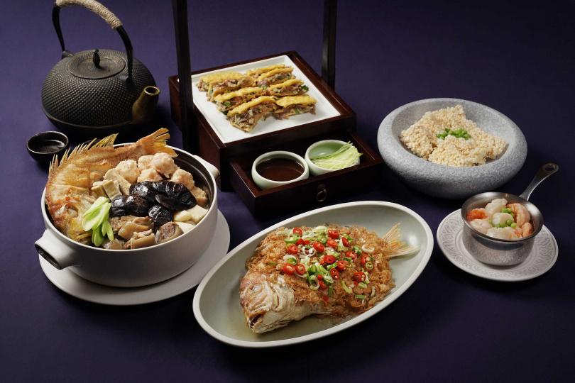 上海夜宴系列「四薈心品」。(圖/THE上海提供)