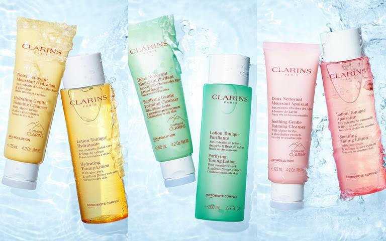「阿爾卑斯純淨潔顏乳」與「純淨化妝水」都有淨化、保濕、舒緩的款式可以選擇。(圖/品牌提供)