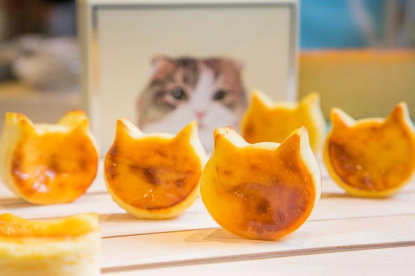 貓貓起司蛋糕。(320元/1盒4入,圖/NEKO NEKO Cheesecake提供)