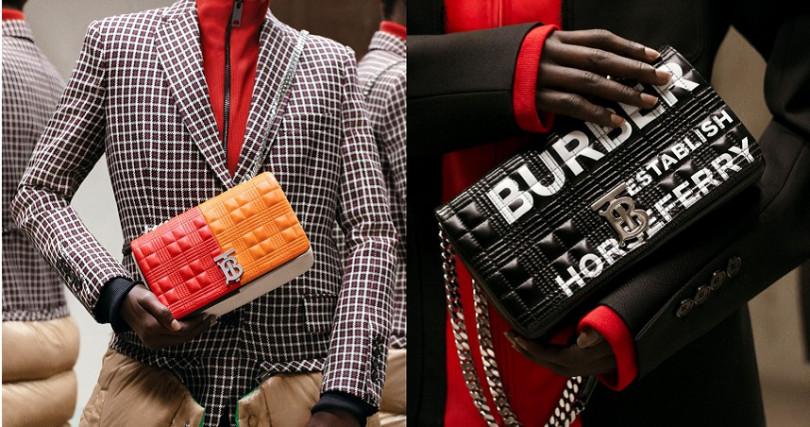 個性與優雅細節兼具是Burberry近年來的新面貌。(圖/品牌提供)