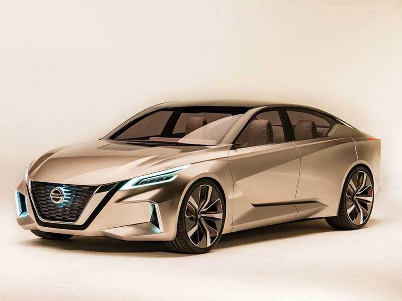 All New Sentra的設計精神源自NISSAN概念車V-Motion 2.0。(圖/NISSAN提供)