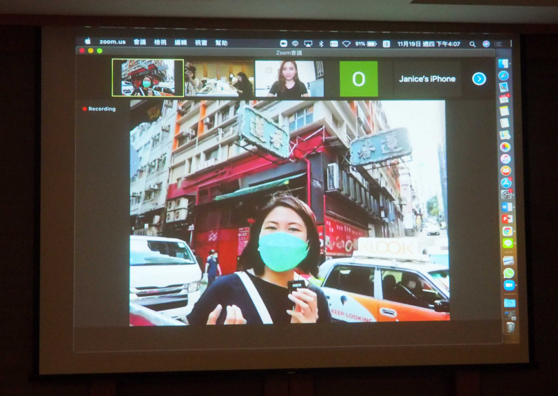 未來透過網路也能線上走訪香港街市。(圖/魏妤靜攝)