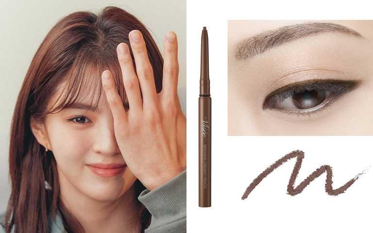Visée可可奶霜眼線筆 #BR300/280元(圖/品牌提供、翻攝網路)
