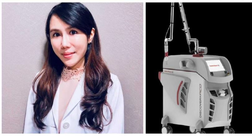 依定美時尚診所李玠樺醫師建議用雙皮秒幫肌膚完美進化。(圖/依定美提供)